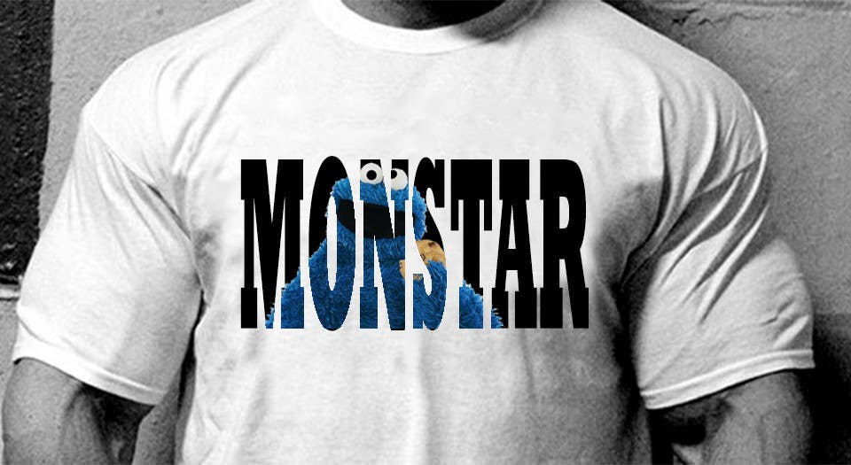 Bài tham dự cuộc thi #                                        1                                      cho                                         Design a T-Shirt for Monstar Apparel - Words with background Images