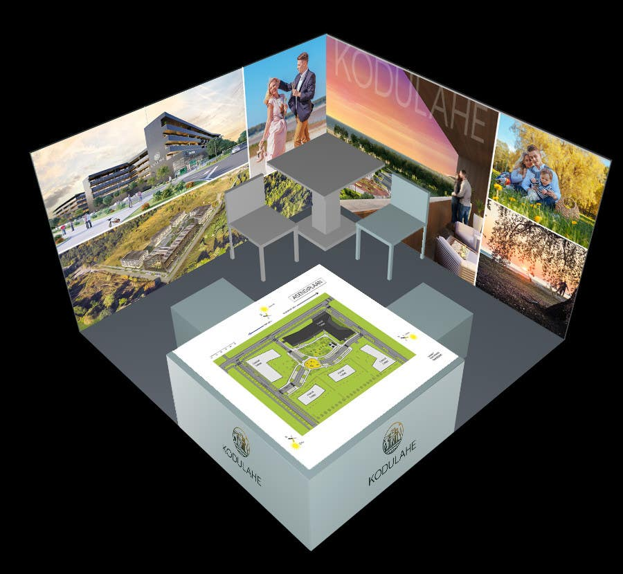 Exhibition Stand Design Competition : Entry by jaros for design a exhibition stand freelancer