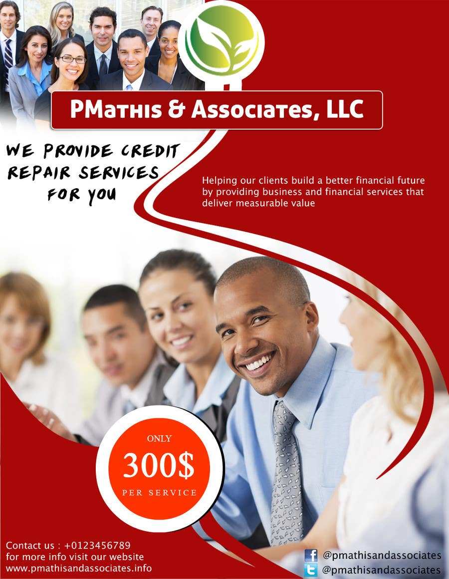 #18 for Design a Flyer for my Credit Repair Company by icaninfosoft