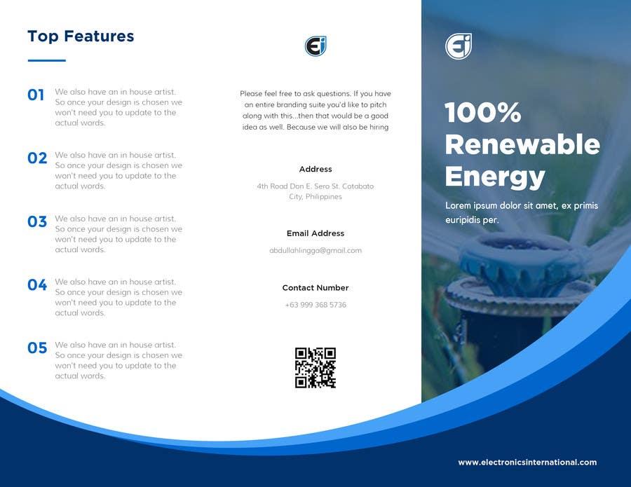 Kilpailutyö #22 kilpailussa Tri Fold Brochure Design