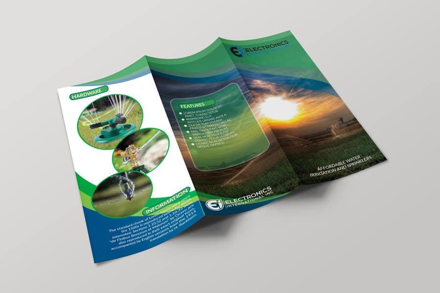 Kilpailutyö #29 kilpailussa Tri Fold Brochure Design