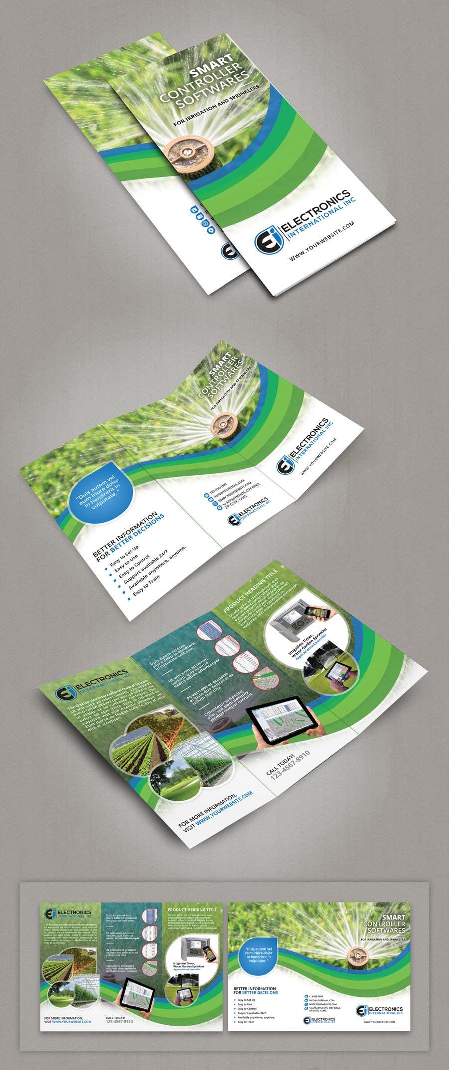 Kilpailutyö #13 kilpailussa Tri Fold Brochure Design