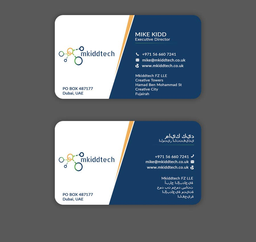 Entry 1 By Itopup777 For Design A Business Card Template For