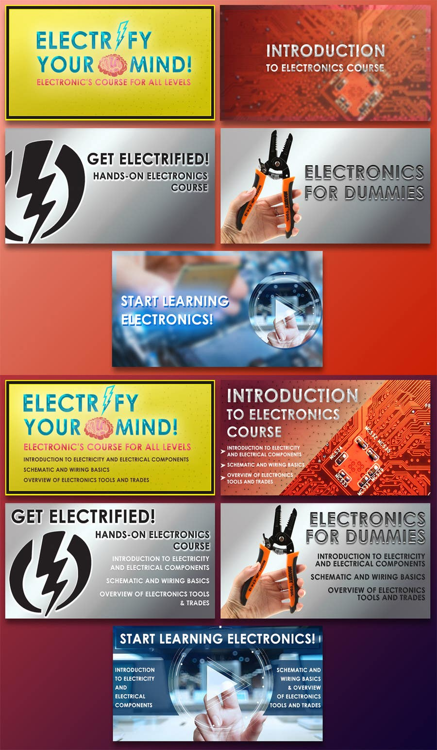 Design a Banner for a Facebook Ad - Electronics Course ... on basic sailboat wiring-diagram, basic concrete for dummies, electrical schematics for dummies, basic marine wiring diagrams, basic electrical schematic diagrams,