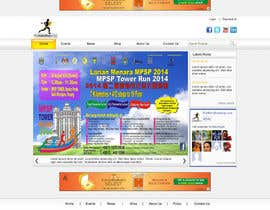 #6 cho Design a Website Mockup for TheMarathonShop bởi webidea12