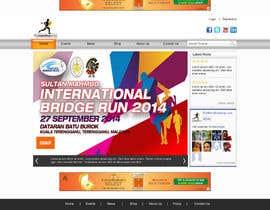 #31 cho Design a Website Mockup for TheMarathonShop bởi webidea12