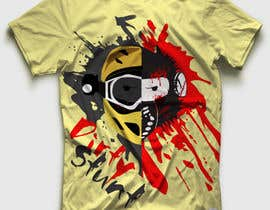 #36 para T-Shirt Design: Brain Damaged por DesignerCS