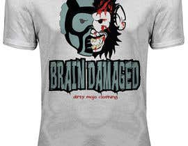 #29 para T-Shirt Design: Brain Damaged por dennisjohn501nr