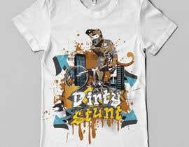 nº 44 pour T-Shirt Design Contest: Dirty Stunt par Franstyas