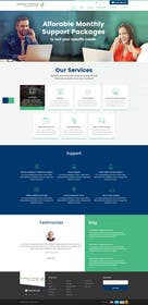 #17 untuk New a new Awesome Looking Website Layout for IT Management Company oleh nikhil33453