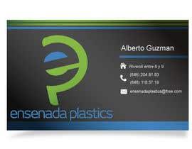 #11 para Business cards Ensenada Plastics por ro2020