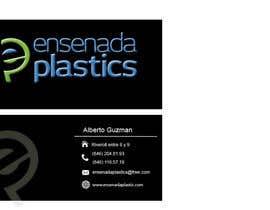 #15 para Business cards Ensenada Plastics por ro2020