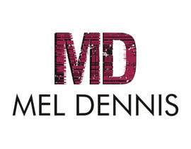 #154 untuk Design a Logo for Mel Dennis oleh cbarberiu