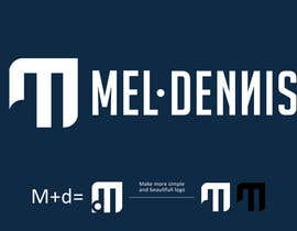 #167 untuk Design a Logo for Mel Dennis oleh ericpetrozza