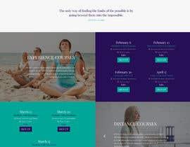 nº 53 pour Build a Website for a meditation movement par redundantdesigns