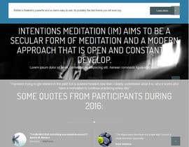 nº 23 pour Build a Website for a meditation movement par backibreg