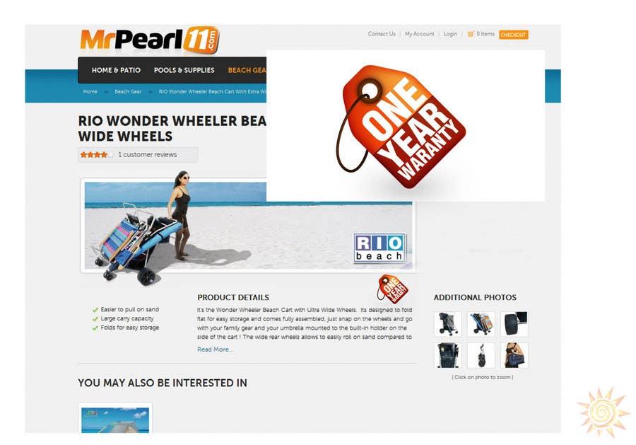Penyertaan Peraduan #26 untuk Graphic Design for MrPearl11