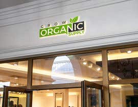 #9 per Grow Organic Supply - logo creation da monnimonni