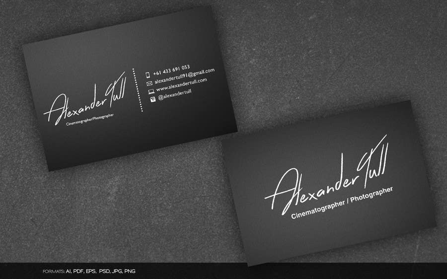 Entry #51 by arnee90 for Design some Business Cards for ...