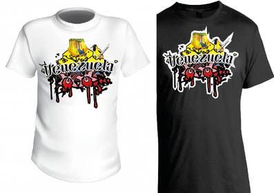 #14 for Design a T-Shirt/Tank-top for upaCachete by hermesbri121091