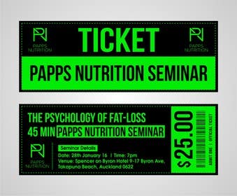 Design a Flyer and matching Ticket for a seminar | Freelancer