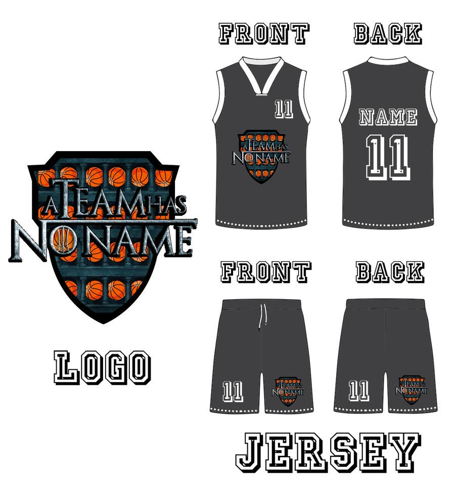 fd09c60e7 Contest Entry  17 for I need some Graphic Design - Basketball logo and jersey  design