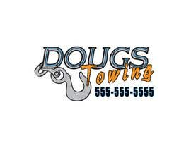 #71 para Logo Design for Dougs Towing de KandCompany