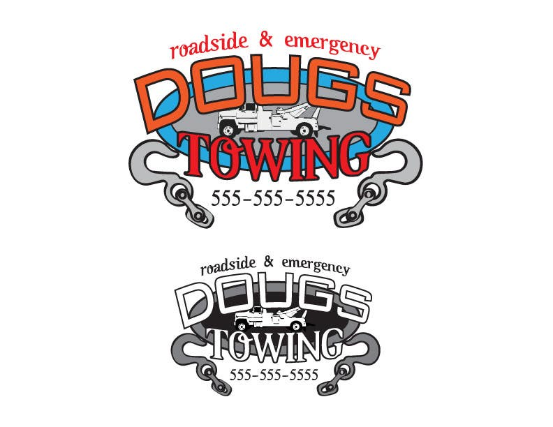 Contest Entry #74 for Logo Design for Dougs Towing
