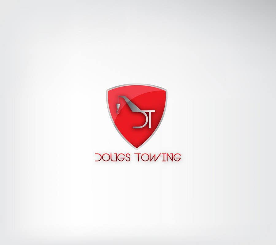 Penyertaan Peraduan #28 untuk Logo Design for Dougs Towing