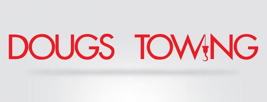 Penyertaan Peraduan #79 untuk Logo Design for Dougs Towing
