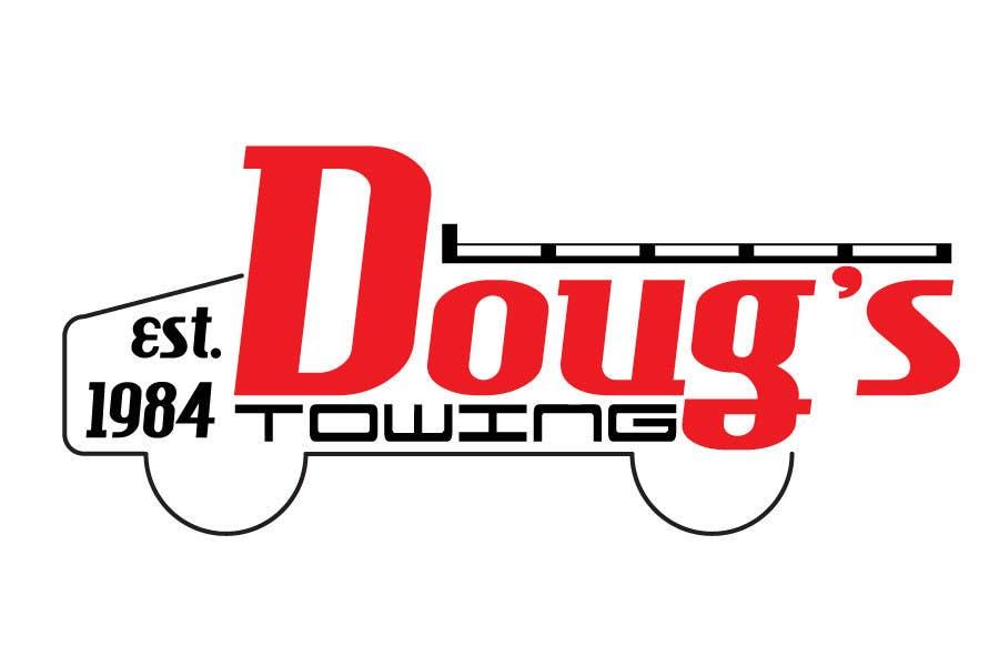 Penyertaan Peraduan #56 untuk Logo Design for Dougs Towing