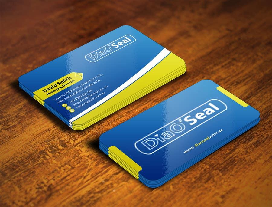 Penyertaan Peraduan #                                        12                                      untuk                                         Design Business Card