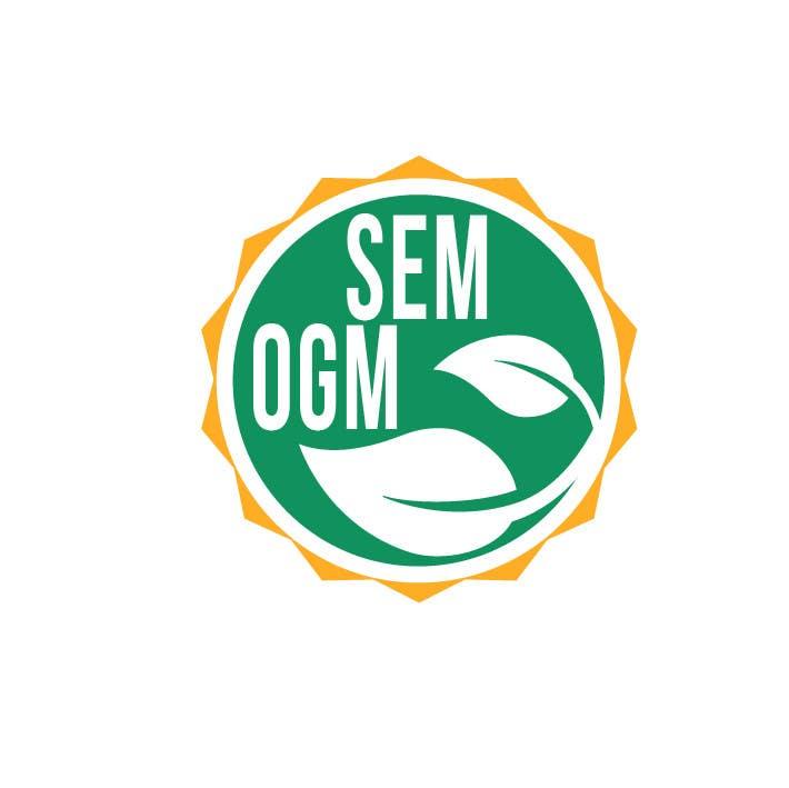 Entry 39 By Drugbound For Sem Ogm Gmo Free Label Freelancer