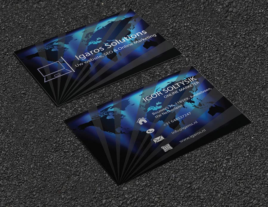 Entry #355 by bdrana1751 for Business cards design needed! | Freelancer