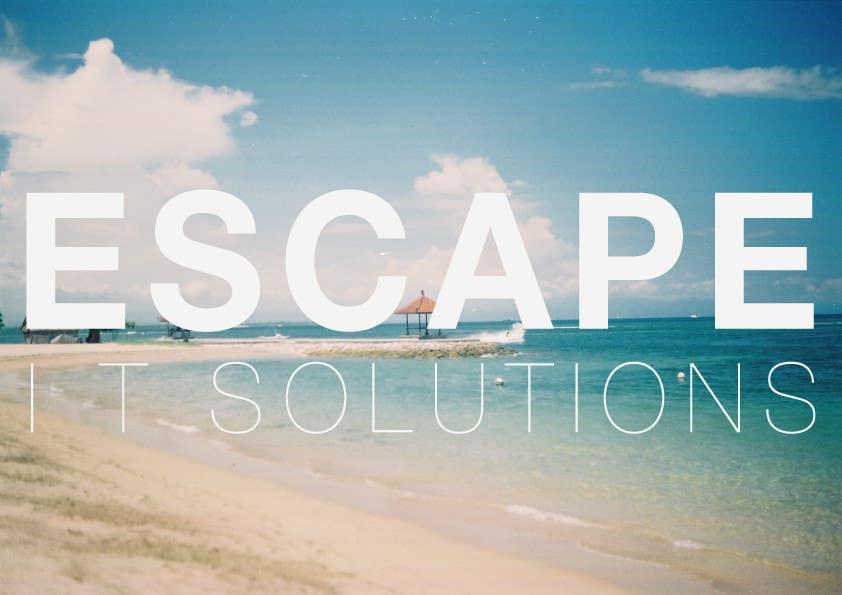 Kilpailutyö #                                        16                                      kilpailussa                                         Graphic Design for Escape I.T Solutions