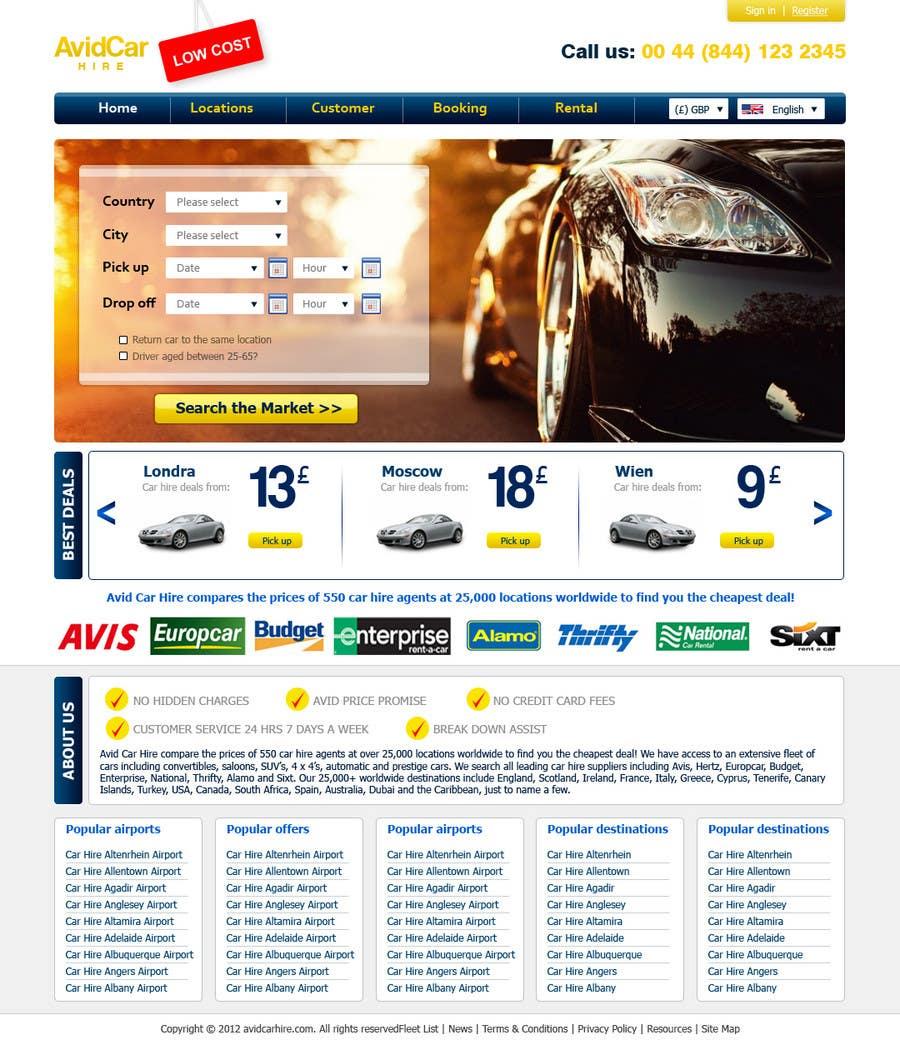 Inscrição nº                                         39                                      do Concurso para                                         Website Design for Avid Car Hire