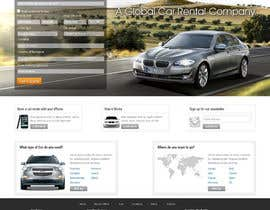#63 for Website Design for Avid Car Hire by hibernicus
