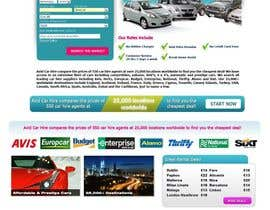 nº 66 pour Website Design for Avid Car Hire par EhabSherif