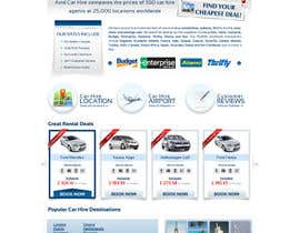 #72 para Website Design for Avid Car Hire por datagrabbers