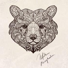 #3 for Handrawn Artistic Bear (head only) Design by nugrahanugraha