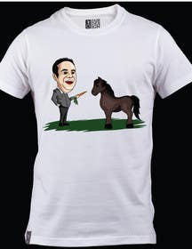 #20 for Design a T-Shirt LLoyd feeding the pony by lucianoluci657