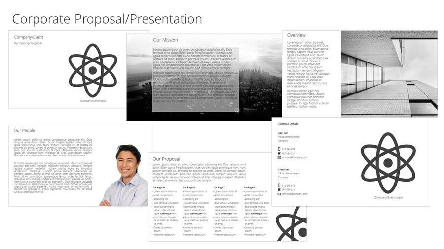 Entry 14 By Lpbras For Partnership Proposal Design And Template