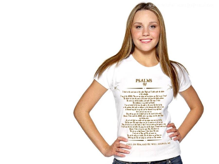 Konkurrenceindlæg #                                        11                                      for                                         Design a T-Shirt for Christian T-shirt company