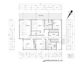 CameliaCam tarafından Floor Plan Redesign for 2 Rooms için no 21