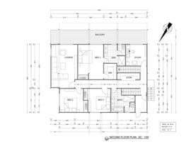 CameliaCam tarafından Floor Plan Redesign for 2 Rooms için no 27