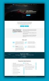 #7 para Design a One Page Website Mockup for an Affiliate Program por siddhiair