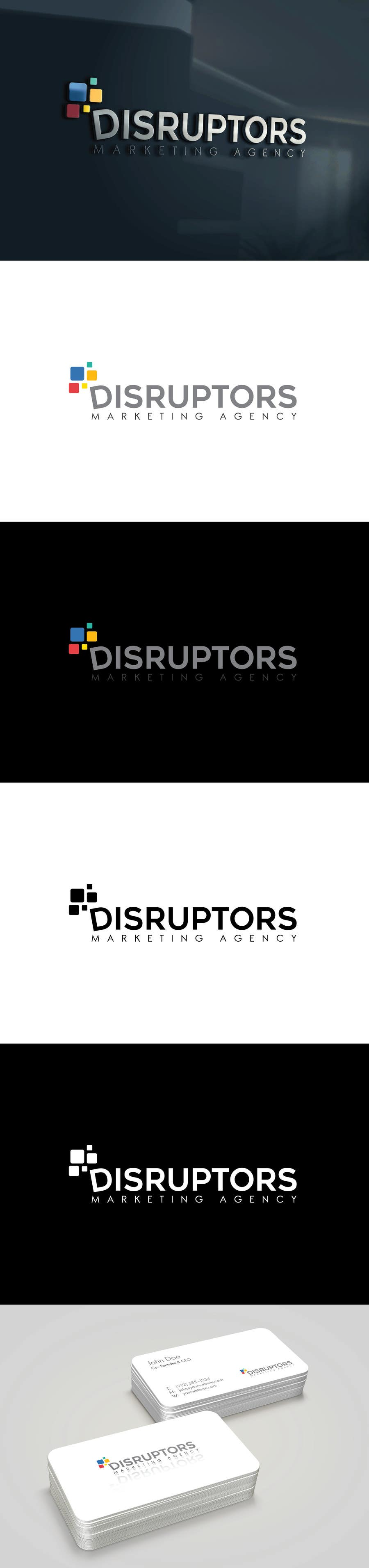 Contest Entry #40 for Logo for Marketing Agency - Disruptors