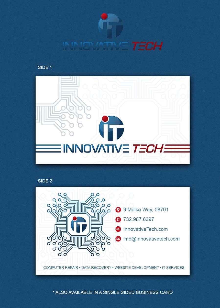Entry #7 by breamae87 for Design some Business Cards for computer ...
