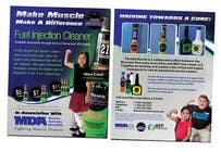 Graphic Design Kilpailutyö #44 kilpailuun Brochure Design for Throttle Muscle