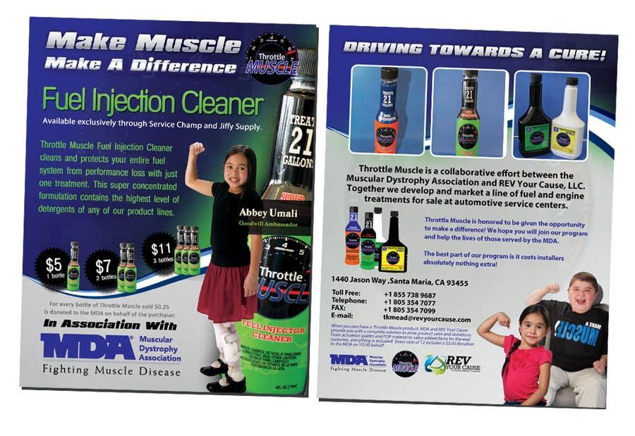 Inscrição nº                                         44                                      do Concurso para                                         Brochure Design for Throttle Muscle